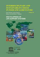 Interdisciplinary and Sustainability Issues in Food and Agriculture   Volume II PDF