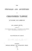 The Struggles and Adventures of Christopher Tadpole at Home and Abroad PDF
