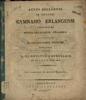De Aeschyli Eumenidibus
