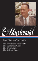 Ross MacDonald  Four Novels of the 1950s   Library of America  264