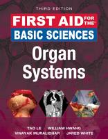 First Aid for the Basic Sciences  Organ Systems  Third Edition PDF