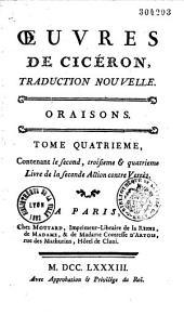 Oeuvres de Cicéron: traduction nouvelle