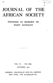 Language and Folklore in West Africa