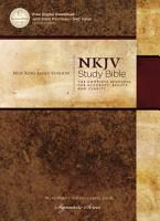 NKJV  The NKJV Study Bible  eBook PDF