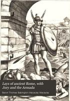 Lays of Ancient Rome  with Jory and the Armada PDF