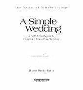 A Simple Wedding PDF
