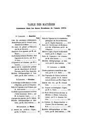 Revue de l'Agenais: Volume1
