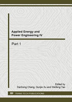 Applied Energy and Power Engineering IV PDF