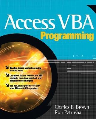 Access VBA Programming PDF