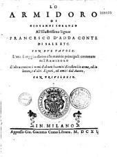 Lo Armidoro di Giovanni Soranzo... con duo tavole