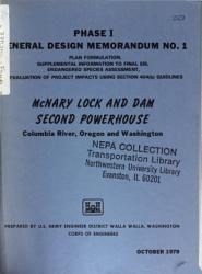 McNary Second Powerhouse (OR,WA)