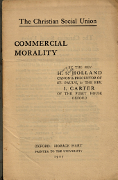 Commercial Morality