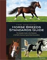 The Official Horse Breeds Standards Guide PDF