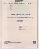 Capital Markets and E fraud PDF