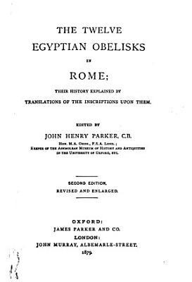 The Egyptian obelisks PDF
