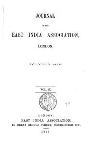 Journal of the East India Association PDF
