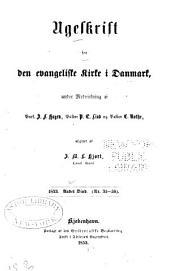 Ugeskrift for den evangeliske kirke i Danmark: Bind 2