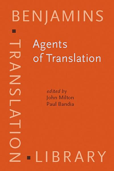 Download Agents of Translation Book