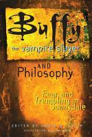 Buffy the Vampire Slayer and Philosophy PDF