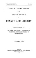 Annual Report of the State Board of Lunacy and Charity of Massachusetts PDF