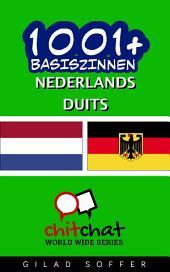 1001+ Basiszinnen Nederlands - Duits
