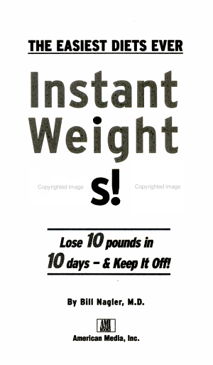 Instant Weight Loss