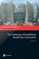 The Challenge of Establishing World class Universities PDF