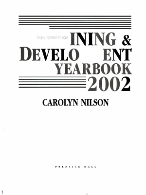 Training and Development Yearbook 2002 PDF