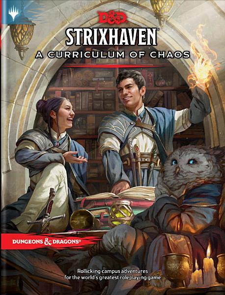Download Strixhaven  Curriculum of Chaos  D d Mtg Adventure Book  Book