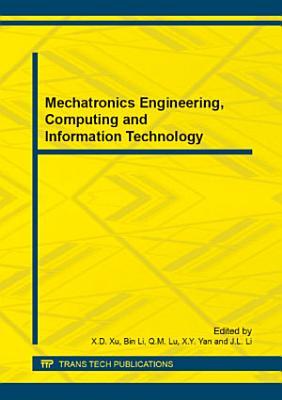 Mechatronics Engineering  Computing and Information Technology PDF