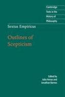 Sextus Empiricus: Outlines of Scepticism