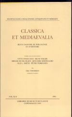 Classica et Mediaevalia 42