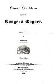 Norske Kongers sagaer: Volum 3