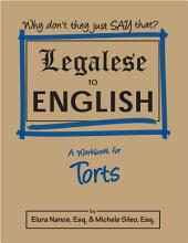 Legalese to English: Torts