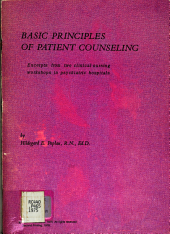 Basic Principles of Patient Counseling PDF