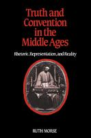 Truth and Convention in the Middle Ages PDF
