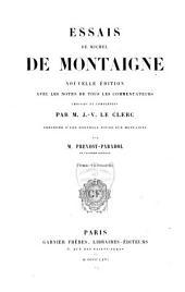Essais: Volume3