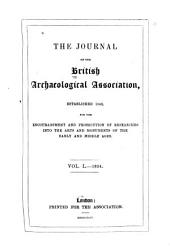 Journal of the British Archaeological Association: Volume 50