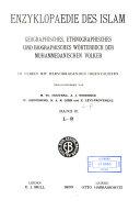 Enzyklopaedie des Isl  m