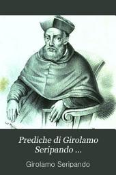Prediche di Girolamo Seripando ...