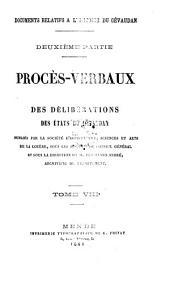 Documents relatifs à l'histoire du Gévaudan [ed. by F. André: Volume 8