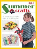 Kids 1st Summer Crafts