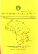 Book review index  Africa PDF