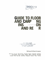 Guide to Floor and Carpeting Installation and Repair