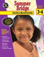 Summer Bridge Explorations  Grades 3   4 PDF