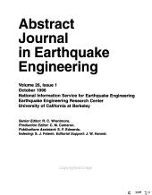 Abstract Journal in Earthquake Engineering PDF