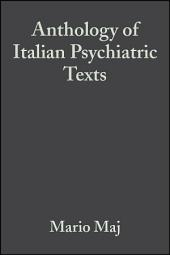 Anthology of Italian Psychiatric Texts
