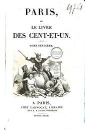 Paris, ou le livre des Cent-et-un: Volume7