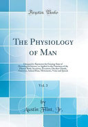 The Physiology of Man  Vol  3 PDF