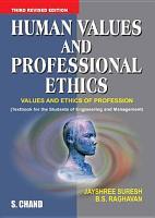 Human Values and Professional Ethics PDF